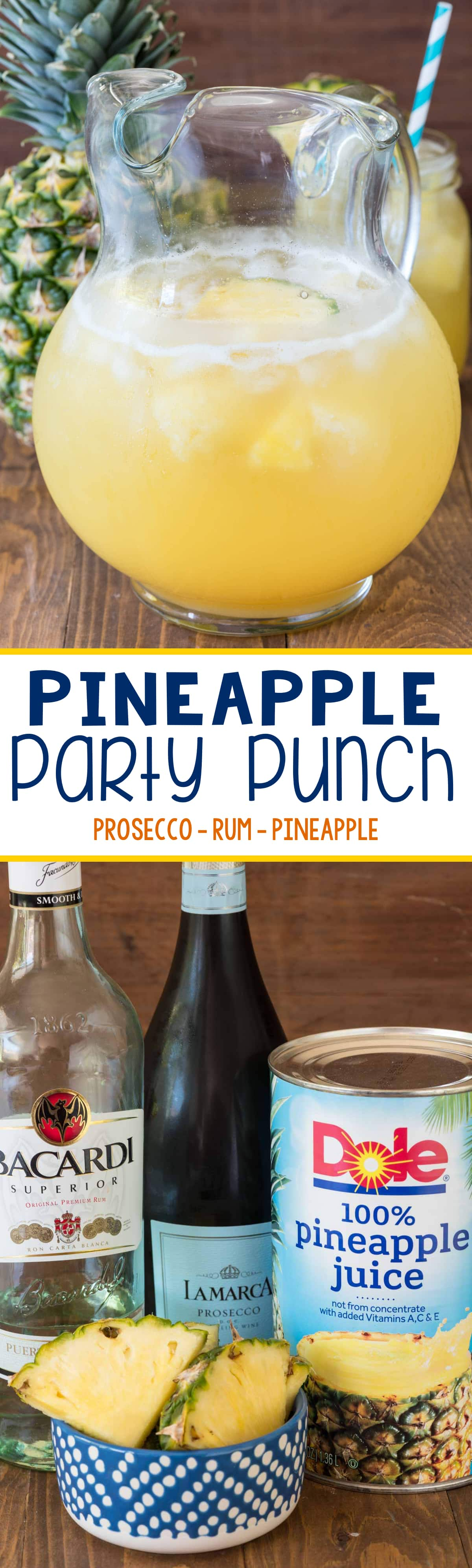 Pineapple Party Punch - Crazy for Crust