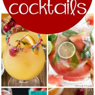 19 Party Punch Cocktail Recipes - Crazy for Crust