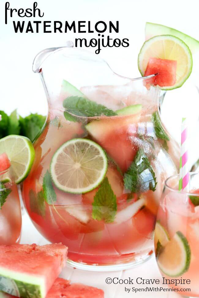 Fresh-Watermelon-Mojitos