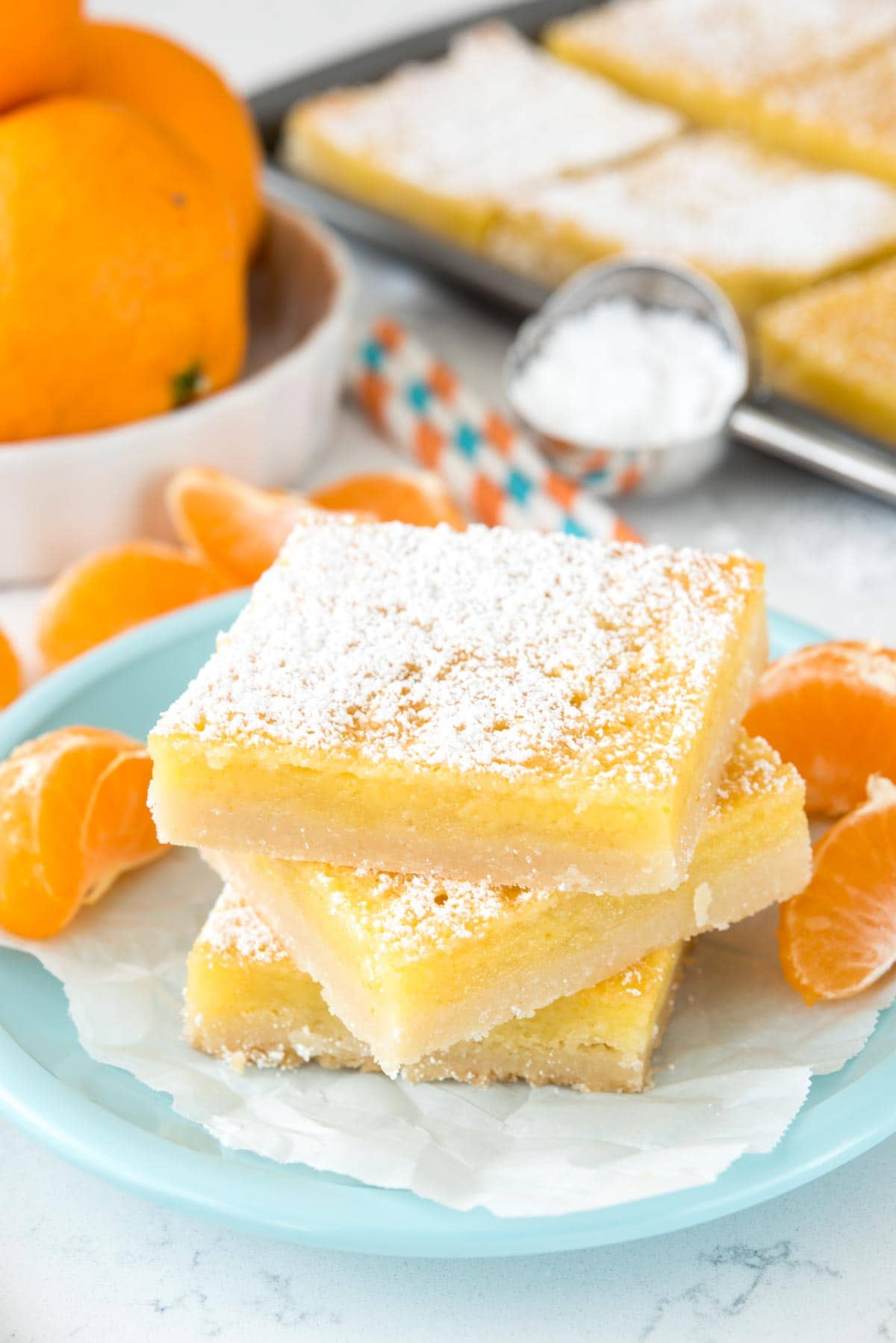 Orange Dream Bars Recipe
