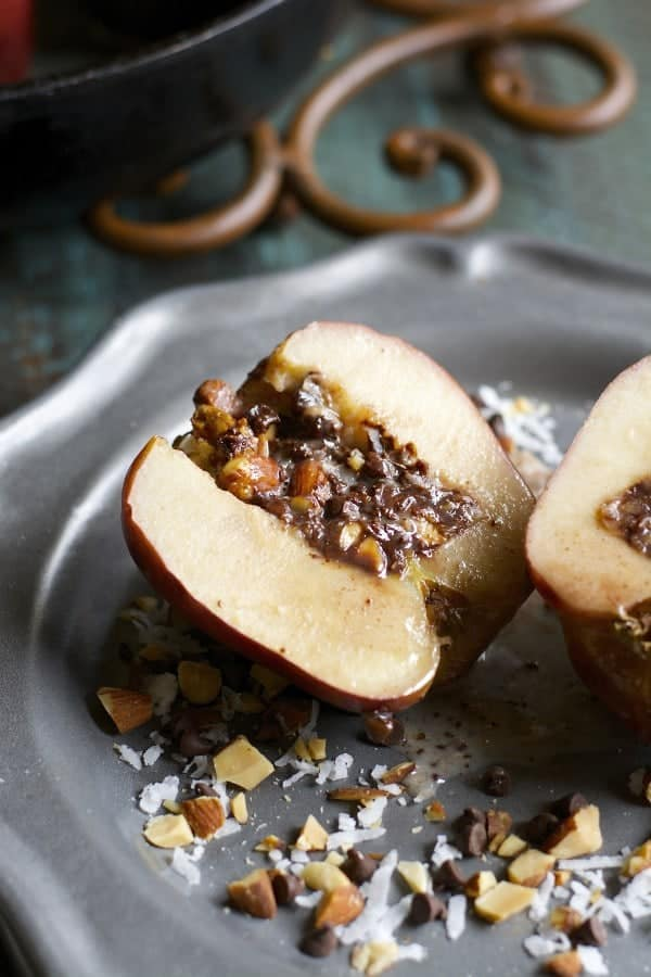 chocolate-almond-baked-apples5