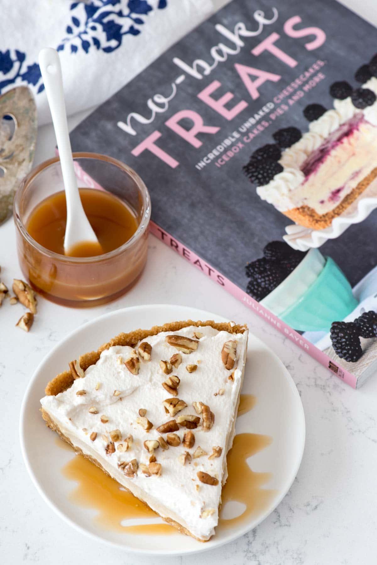 EASY No Bake Butterscotch Pie Recipe from No Bake Treats by Julianne Bayer