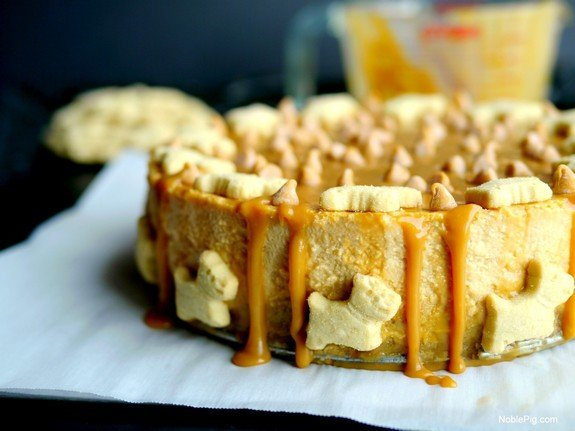 Butterscotch-Overload-Cheesecake-with-Shortbread-Crust-Noble-Pig