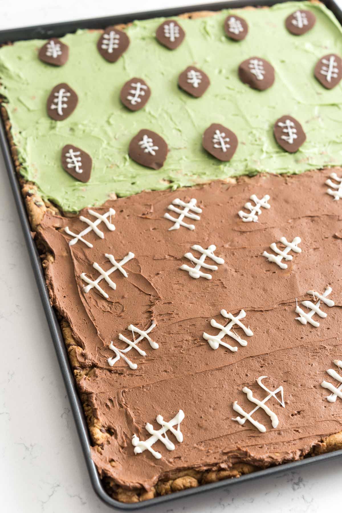 Mega Chocolate Chip Cookie Cake Recipe