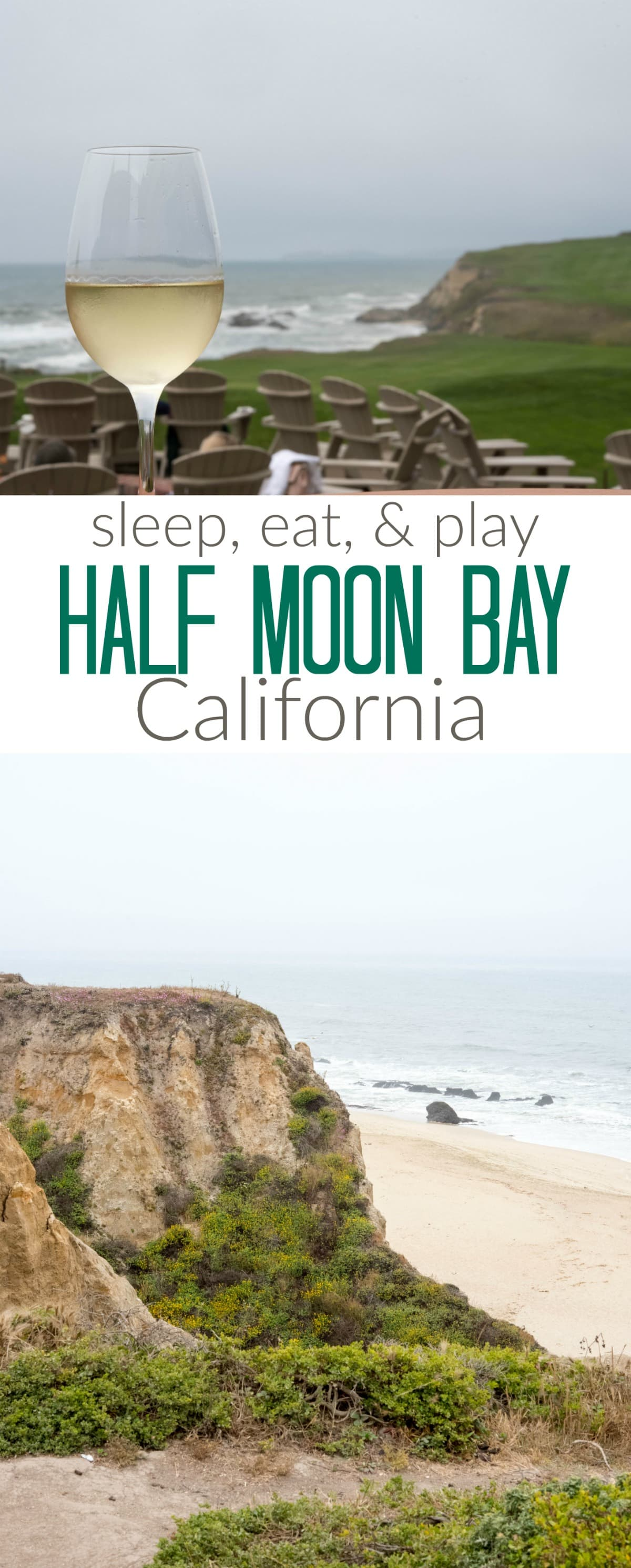 Your guide to Half Moon Bay, California! Where to stay, eat, and play for all your travel in San Francisco and the Bay Area!