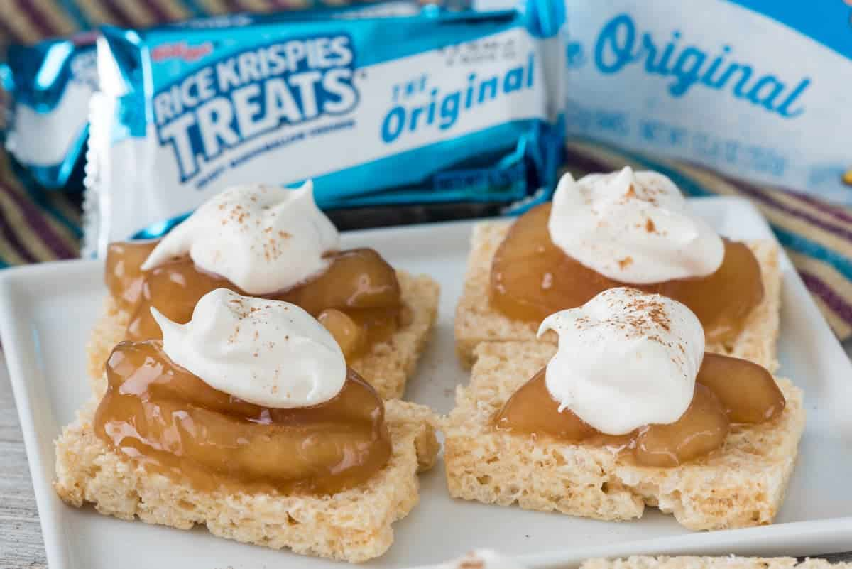 Rice Krispies Treats Easy Apple Pies