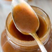 Homemade Cinnamon Caramel Sauce