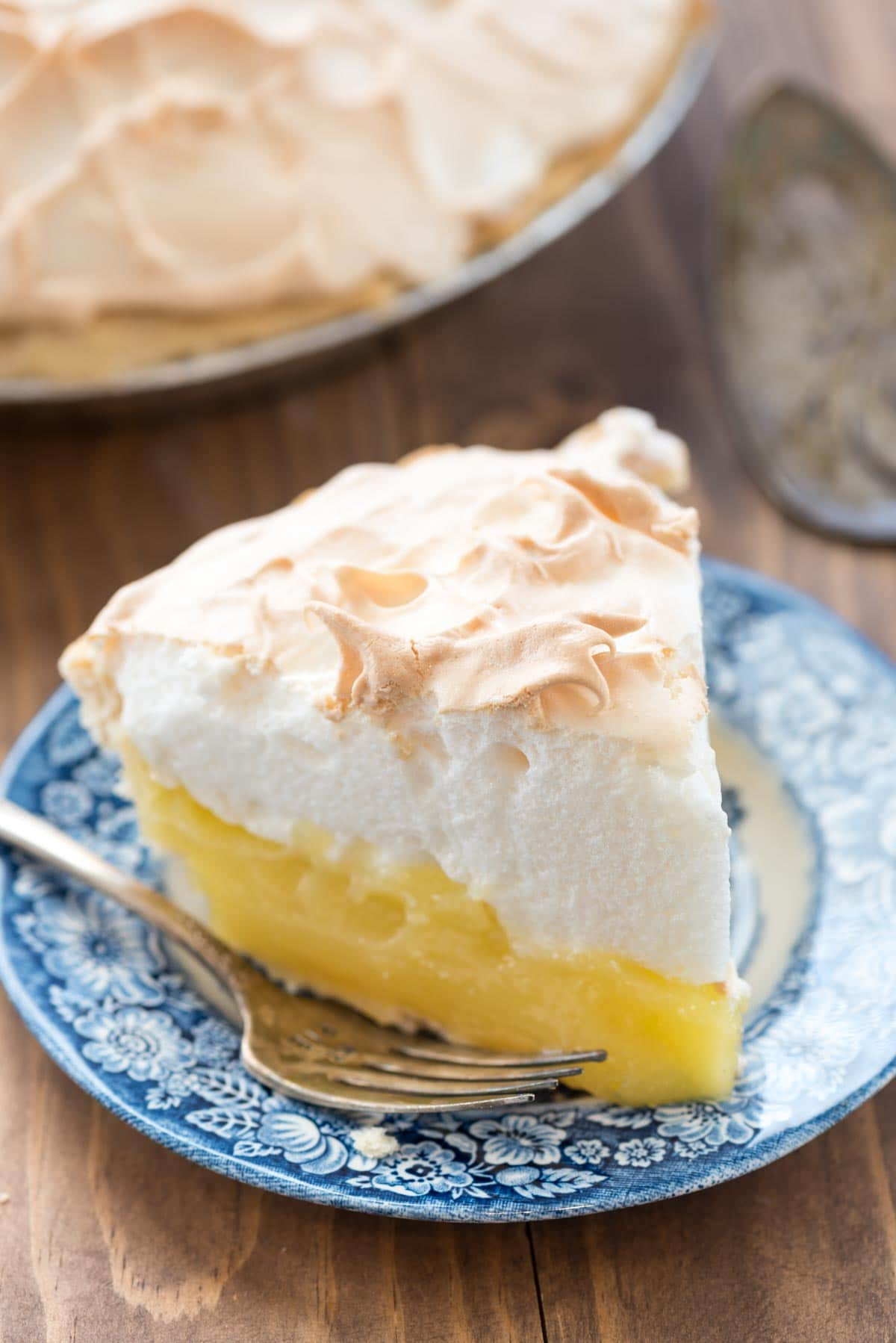 Aunt Tootsie's Lemon Meringue Pie recipe from Crazy for Pies by Dorothy Kern