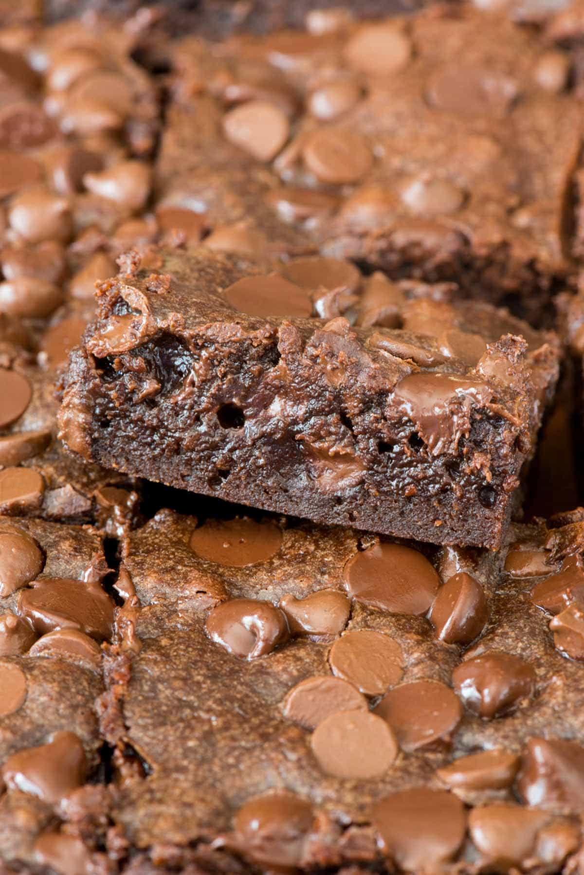 The BEST One Bowl Brownie Recipe