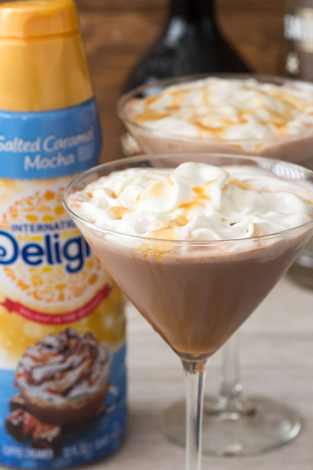Salted Caramel Mocha Martini Recipe