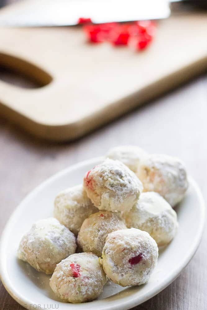 cherry-pistachio-snowball-cookies