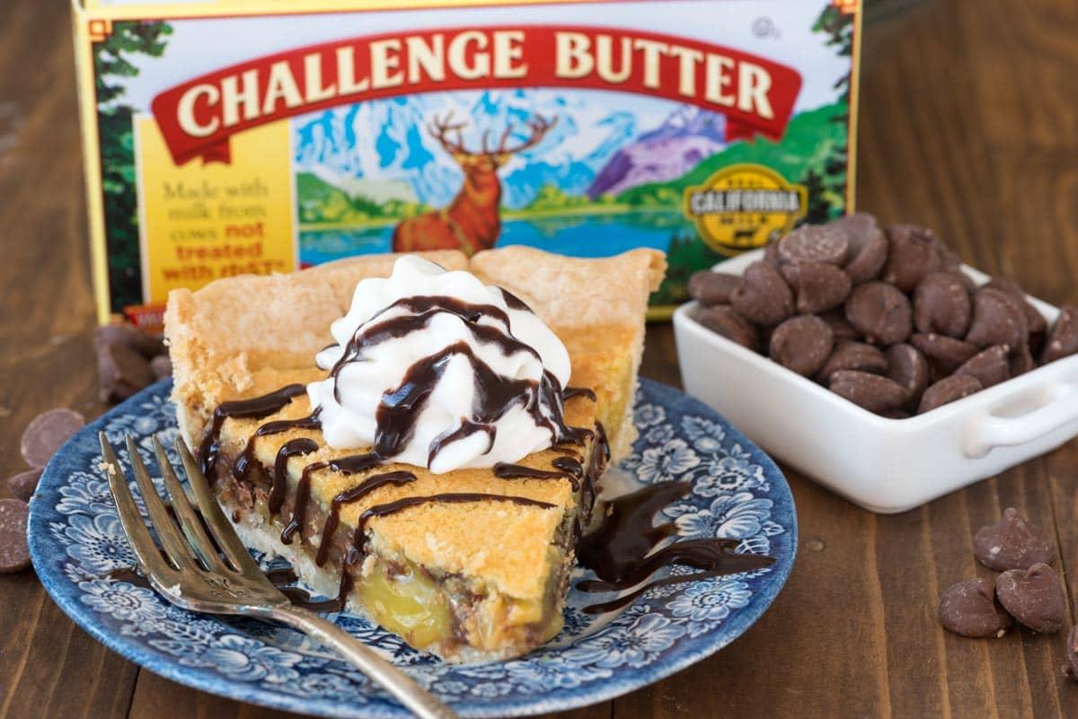 Classic Easy Chocolate Chip Chess Pie Recipe