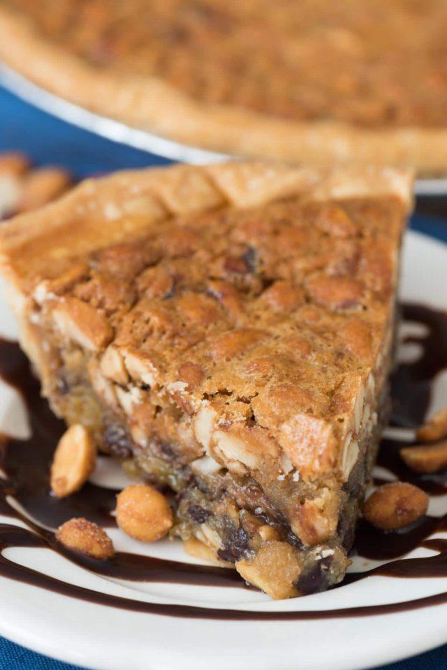 Chocolate Peanut Pie
