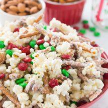Santa Munch Popcorn Snack Mix