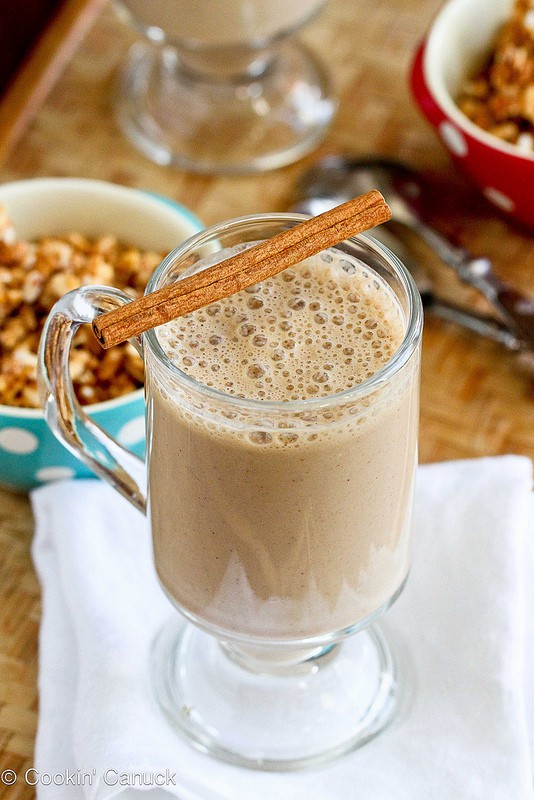 healthy coffee banana smoothie