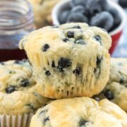 Blueberry Pancake Muffins