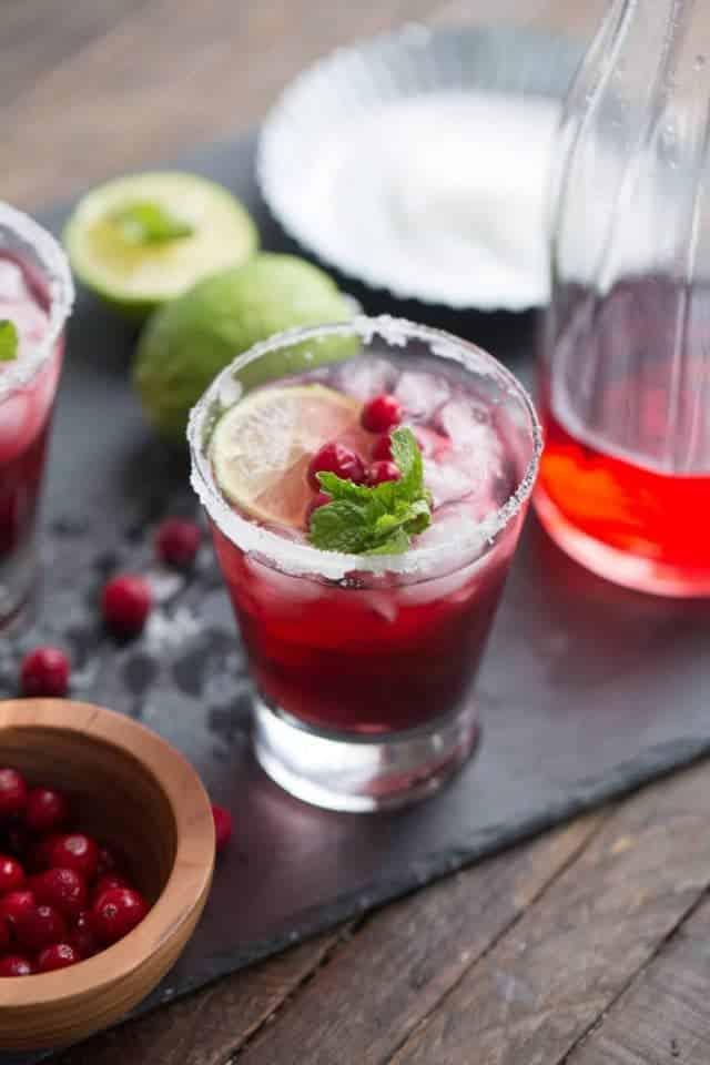 Cranberry Daiquiri by Lemons for Lulu