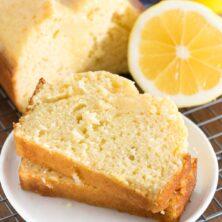 Lemon Quick Bread is bursting with lemon flavor.
