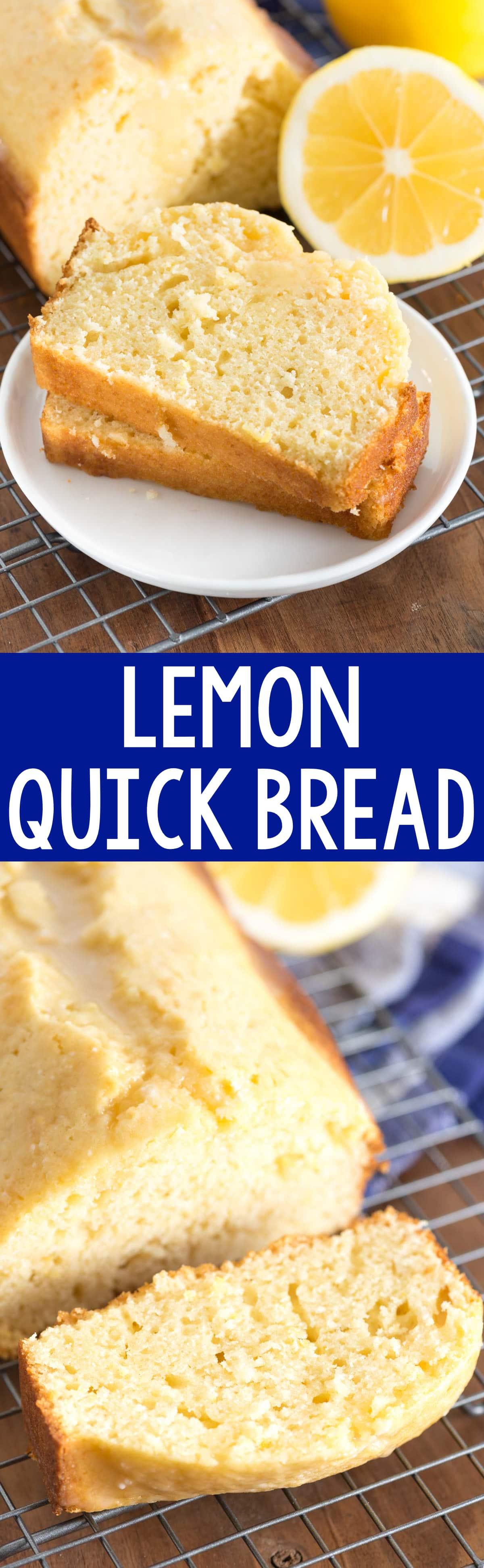 Lemon Quick Bread - Crazy for Crust