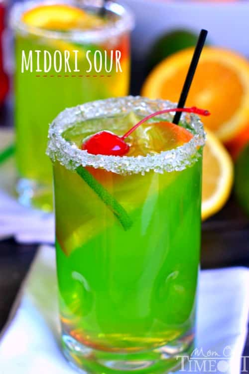 Midori Sour Recipe by Mom on Timeout