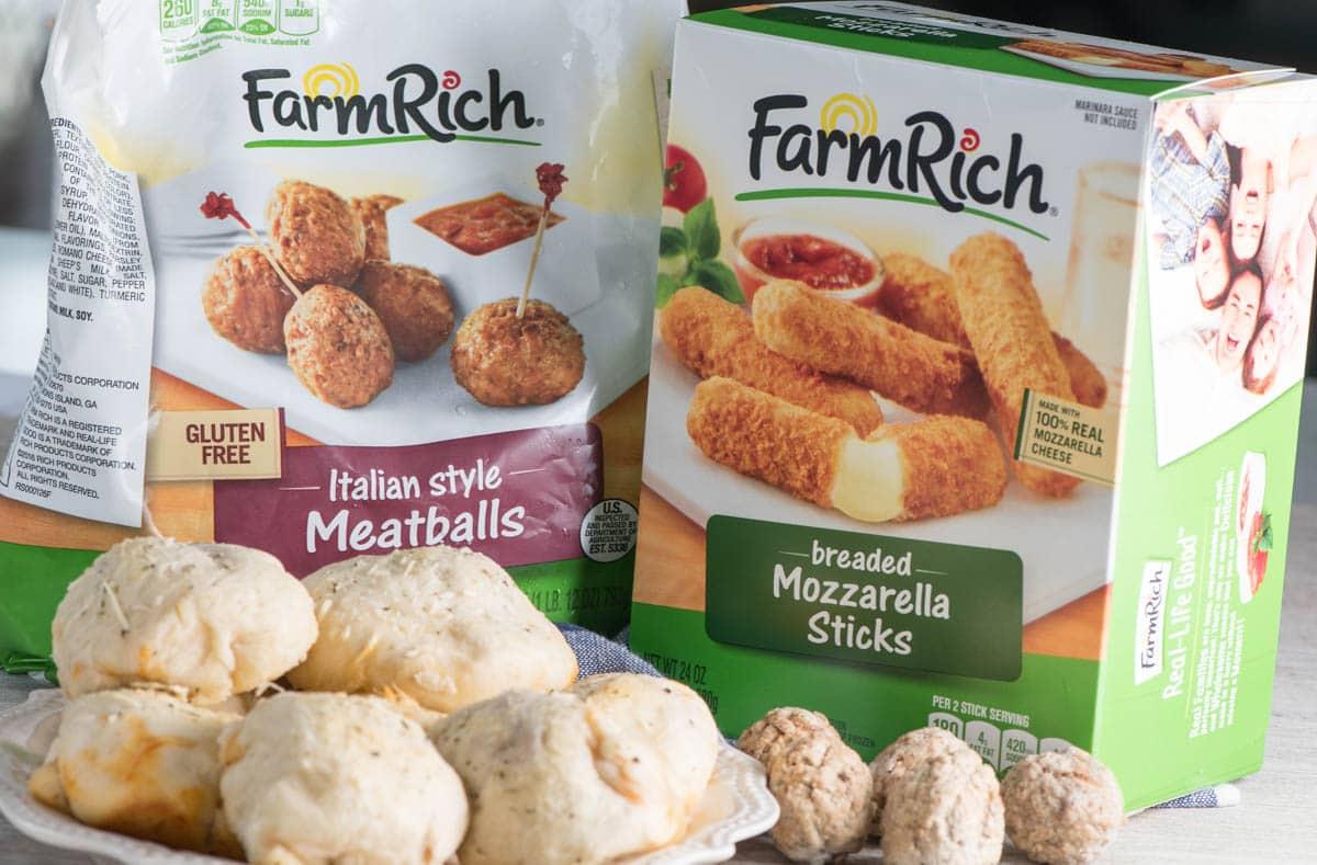 Farm Rich frozen snacks