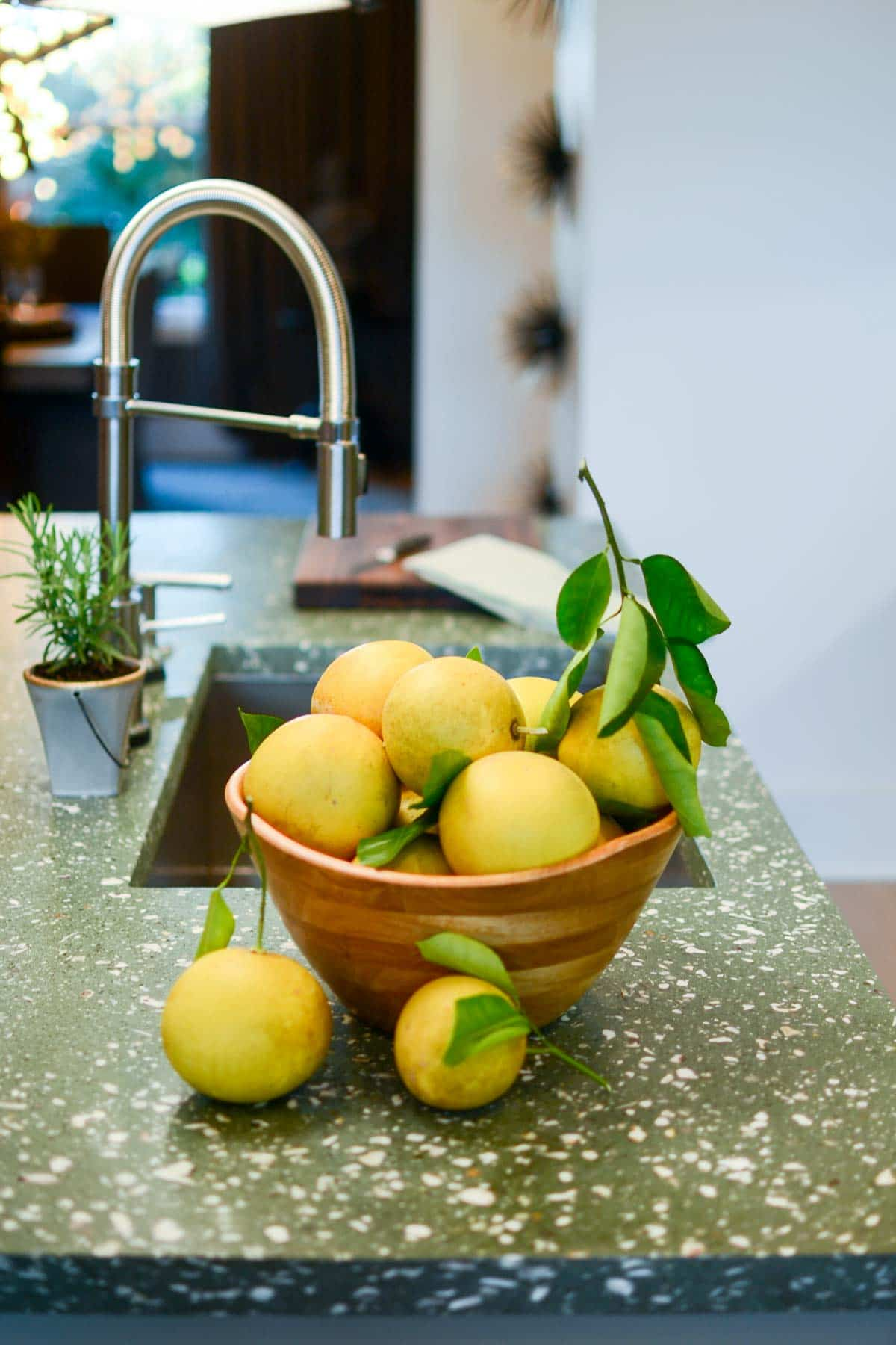 Lemon Decorations For Kitchen 7 Decorating Tips For A Green Kitchen Crazy For Crust