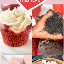 Collage of 18 Valentine's Day Recipes to Love