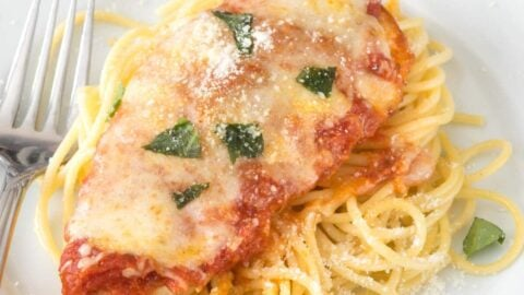 Easy Chicken Parmesan Recipe Crazy For Crust