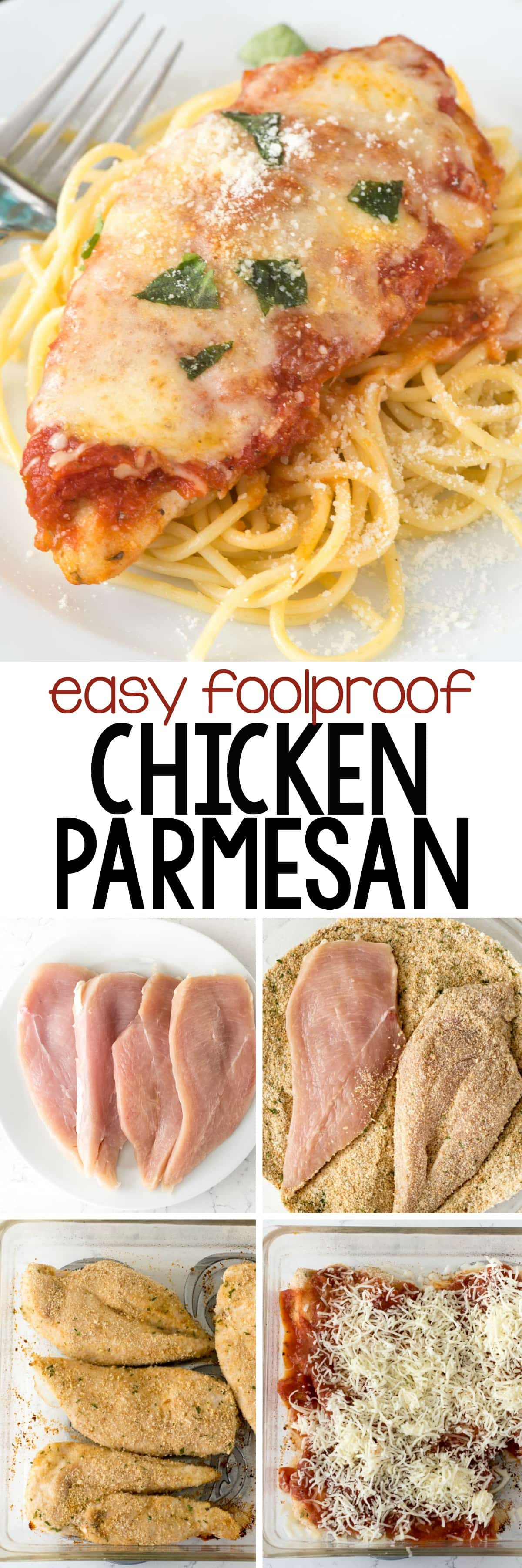 Easy chicken parmesan crazy for crust for Best dinner ideas ever