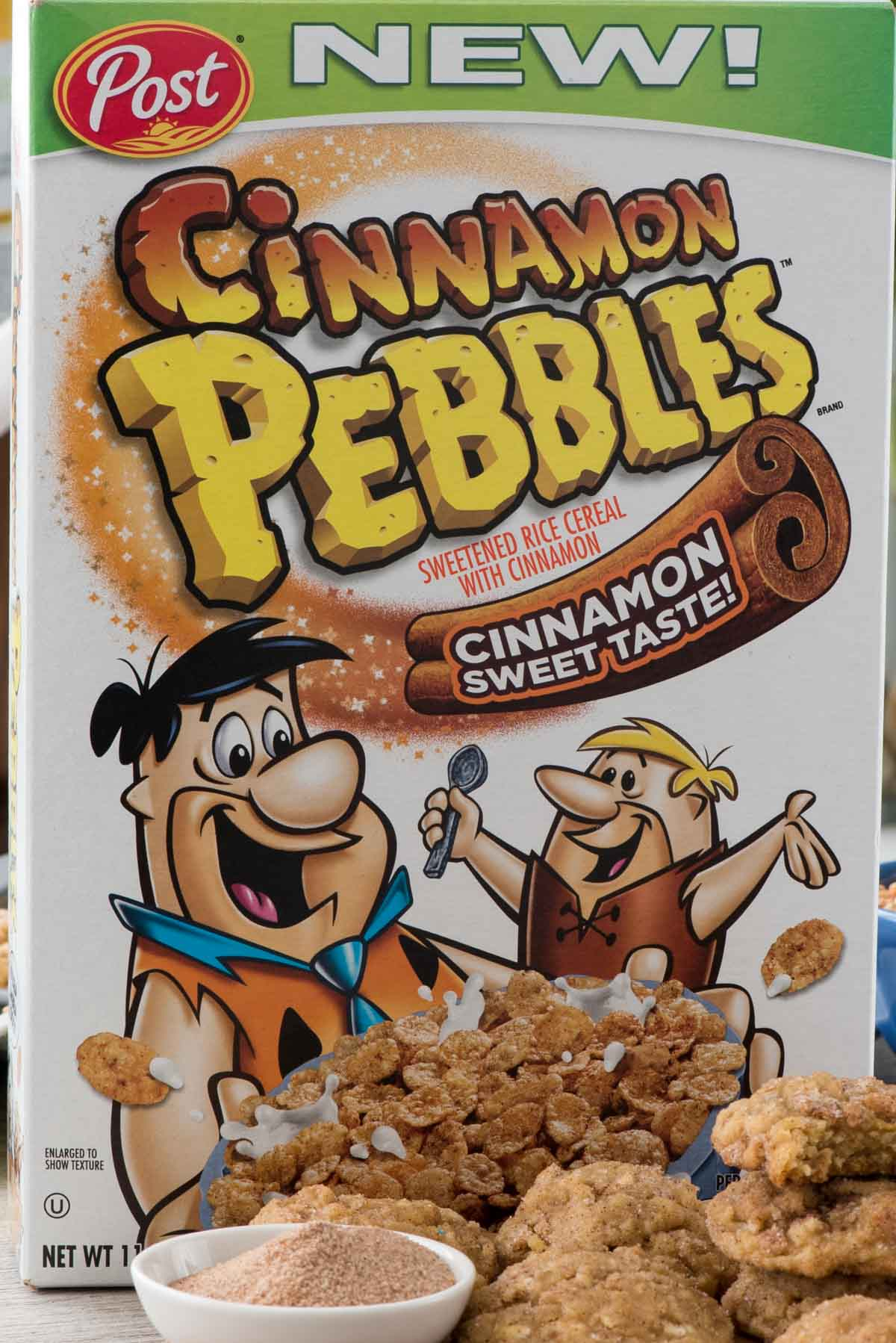 NEW Cinnamon Pebbles cereal