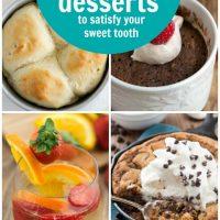 15 Small Batch Dessert Recipes