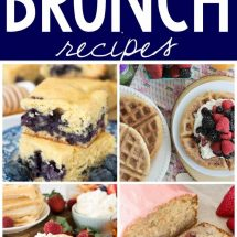 8 Easy Brunch Recipes you'll want to make immediately!