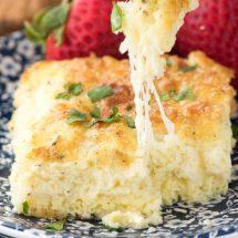 Cheesy Egg Casserole