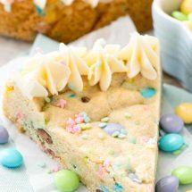 Easter Sugar Cookie Cake