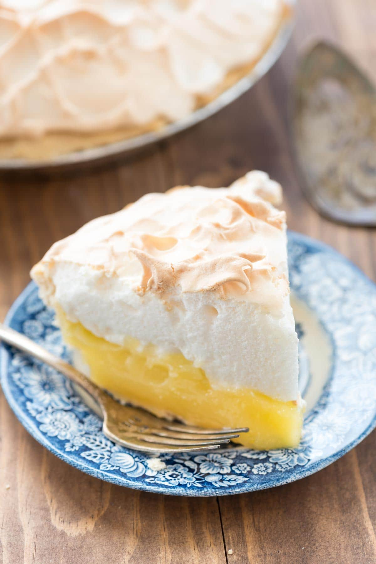Aunt Tootsie's Lemon Meringue Pie - Crazy for Crust
