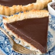 Chocolate Macaroon Pie