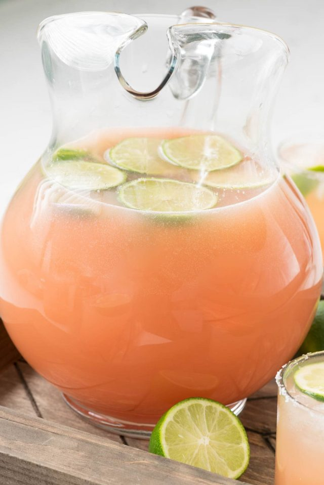 Salty Dog Punch Cocktail