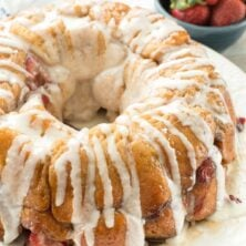 Strawberry Monkey Bread