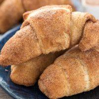 Crescent Roll Churros - 3 ingredient recipe!