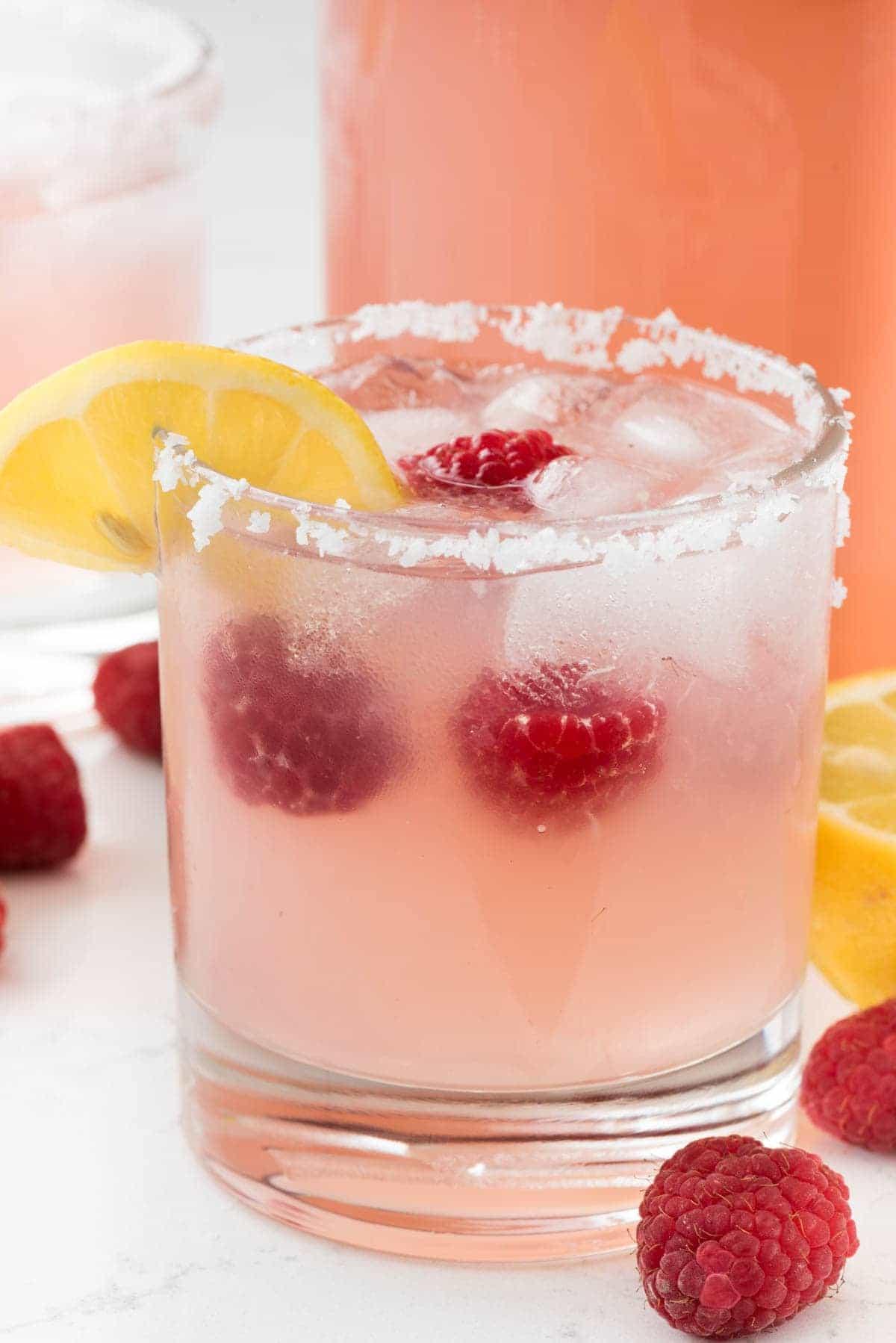 Raspberry Lemonade Margaritas
