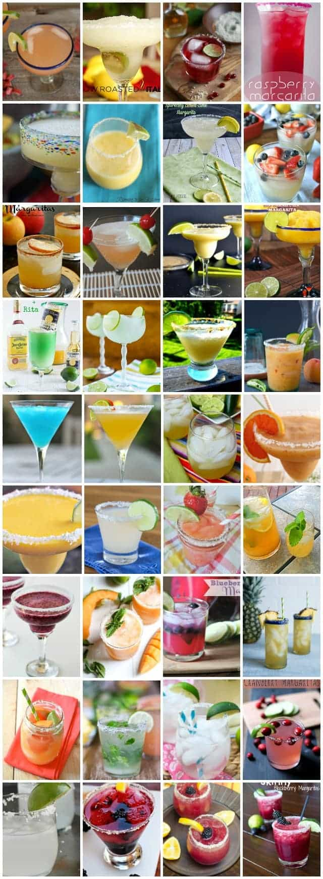 Over 65 of The BEST Margarita Recipes on the internet!