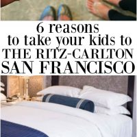 6 Reasons to take your kids to The Ritz Carlton in San Francisco for a fun weekend vacation!