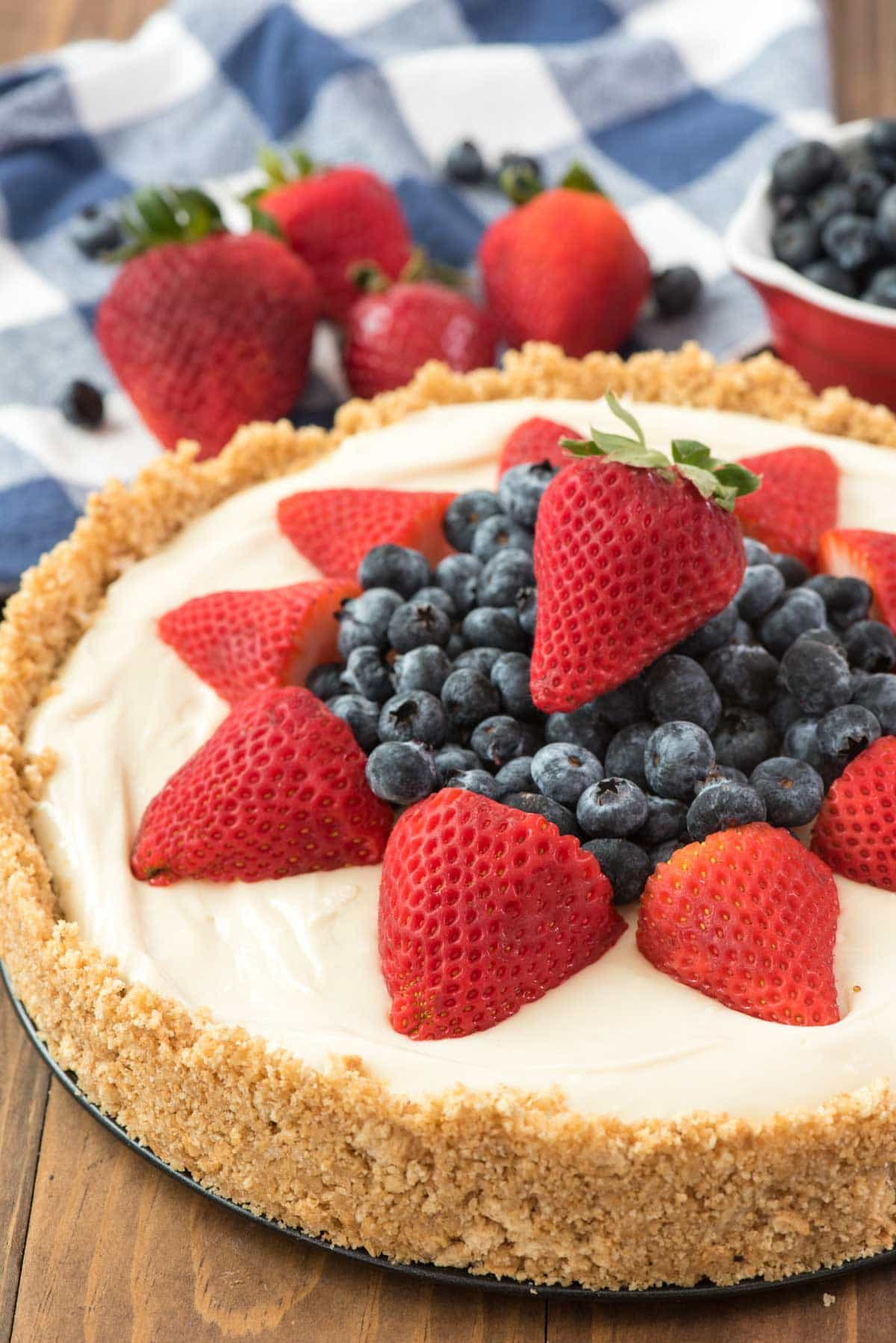The Best No Bake Cheesecake Recipe Crazy For Crust