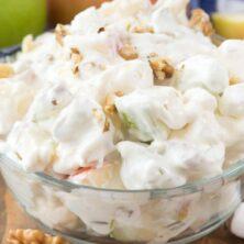 Cheesecake Apple Salad