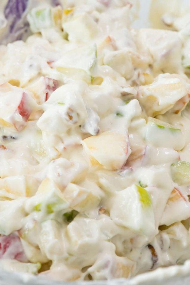 Cheesecake Apple Salad Fluff