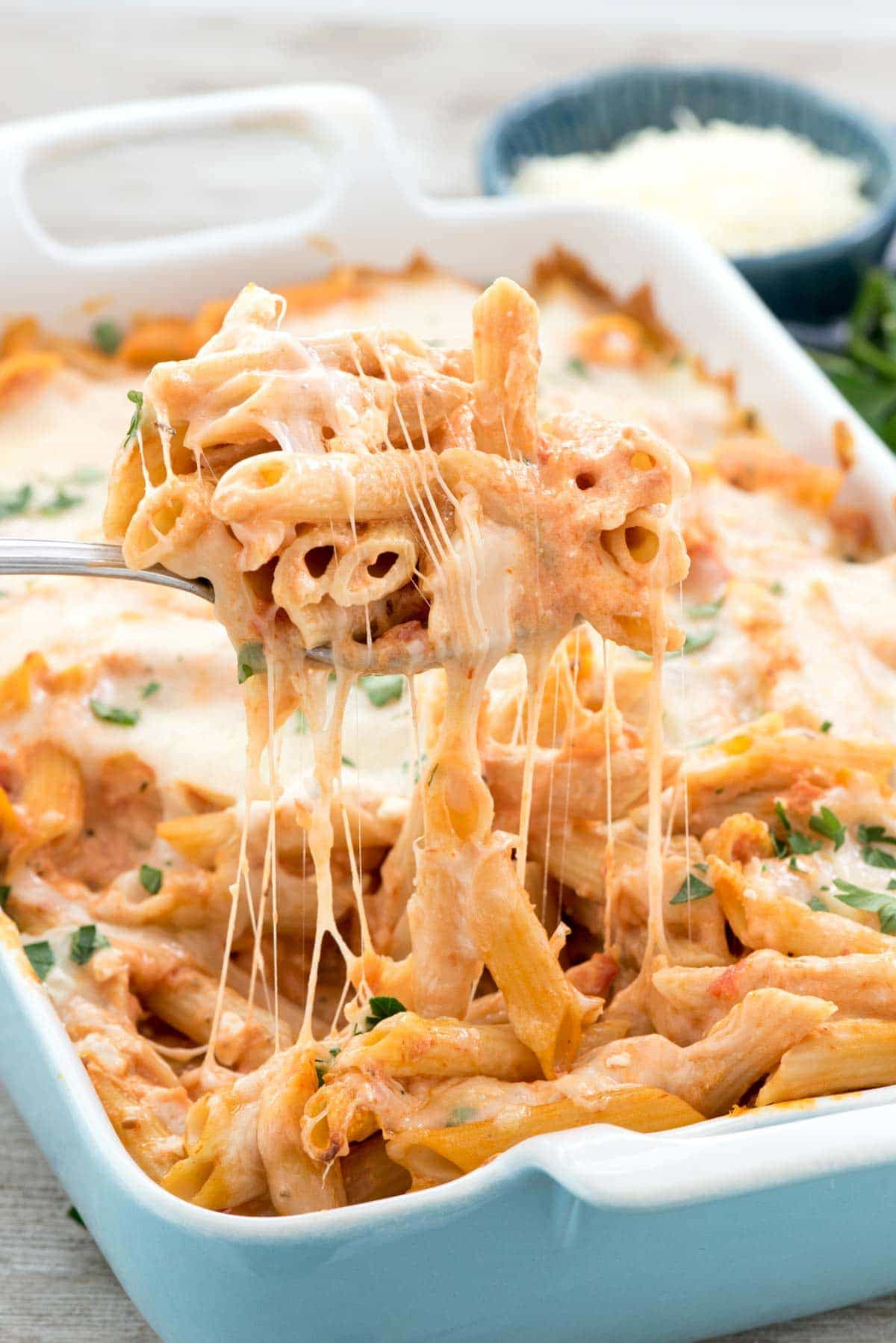 Easy Baked Penne Crazy For Crust