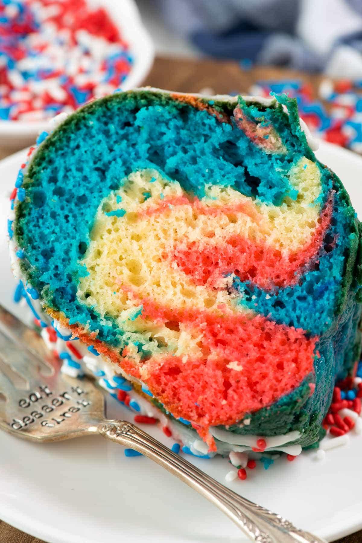 Fireworks Bundt Cake Crazy For Crust