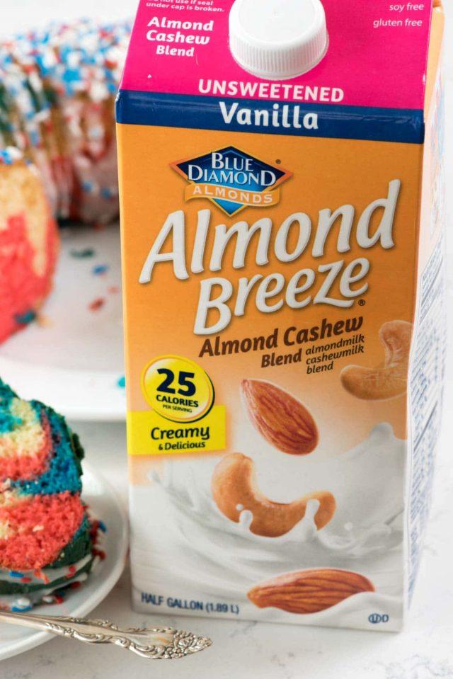 Blue Diamond Almond Breeze Almond Cashew milk