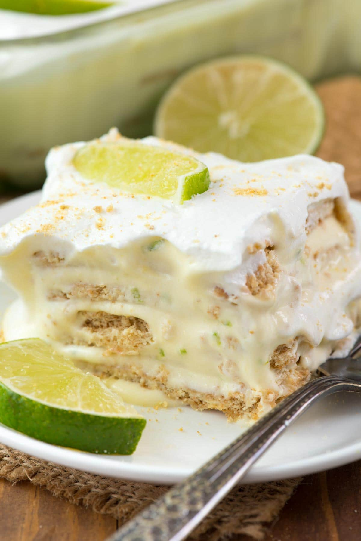 Easy No Bake Key Lime Eclair Crazy For Crust