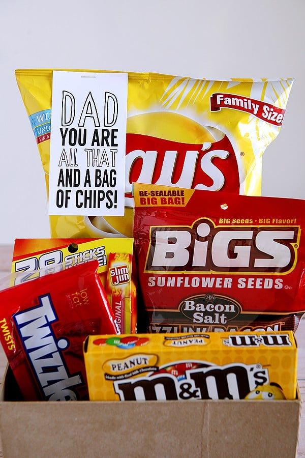 photograph about You Re All That and a Bag of Chips Printable identified as Fathers Working day BBQ Social gathering Program - Nuts for Crust